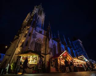 Christmas Market by Merkosh