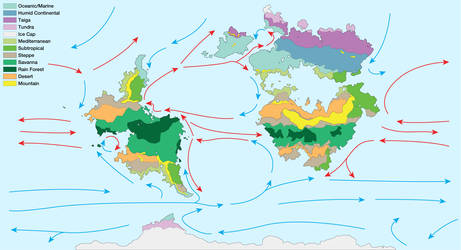 Anterra Climate Map by graphicamechanica