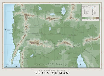 Realm of Man Topography (Commission) by graphicamechanica