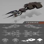 Tsunami by machinefire