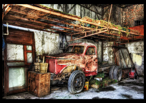 Lady in Red HDR by ISIK5