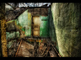 One Door Away From Heaven HDR by ISIK5