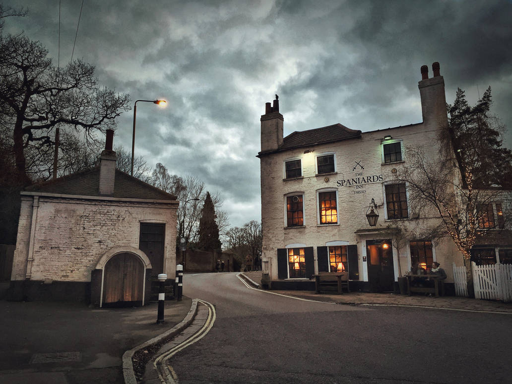 Spaniards Inn HDR by ISIK5
