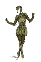 Woodland Warrior Armor Adopt [SOLD] by Captain-Savvy
