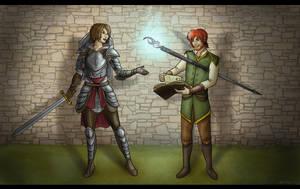 Training Trevelyans by Captain-Savvy