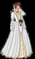 Alora's Wedding Dress by Captain-Savvy