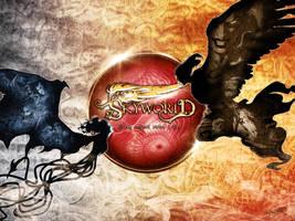 Skyworld Poster Rianka vs Kaptan by Iantoy