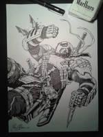 Deathstroke the Terminator by Iantoy