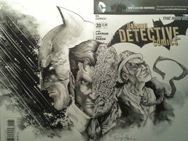 Detective comics blank cover by Iantoy