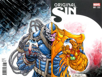Apocalypse/Thanos: Eyes of the Watcher by Iantoy