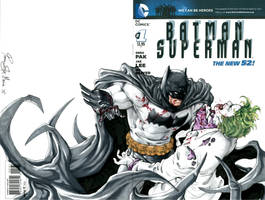 Batman V Joker by Iantoy