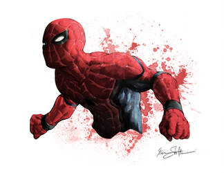 Civil War Spiderman by Iantoy