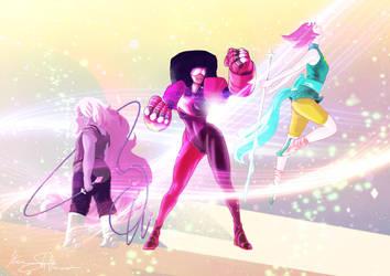 The Crystal Gems by Iantoy