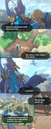 Breath Of The Wild - Revali Comic by miamitu