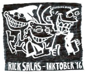 INKTOBER '16 Finale - Inktober Edds Here by Clockchat