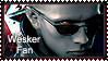 :::Wesker Fan::: stamp by Claire-Wesker1