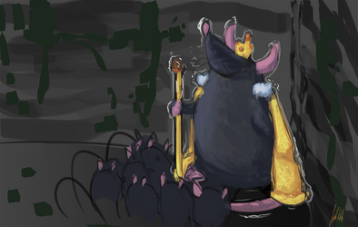 Rat King by heatojul