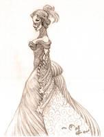 Lady 2 by Kipestshin