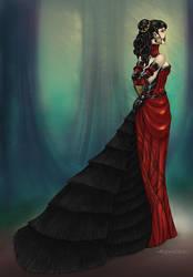 Elegant Bethrie Rosethorn by Kipestshin