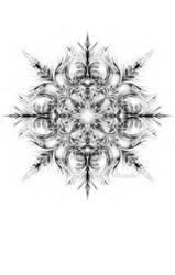 Snowflake 001 by Kipestshin