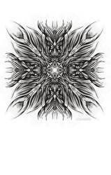 Snowflake 005 by Kipestshin