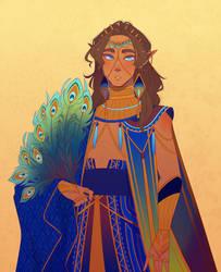 rd : peacock prince by Looji