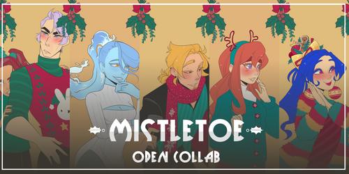Mistletoe OPEN collab 2018 by Looji