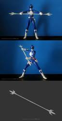 3D Printable Power Lance by Digital-Human