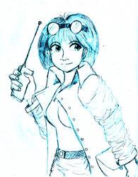 Abby Sketch by majorkerina