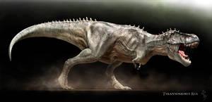 Tyrannosaurus rex by Swordlord3d