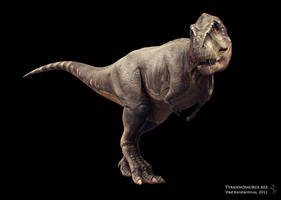 T-Rex, new render by Swordlord3d