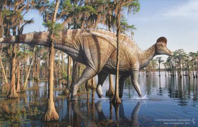 Corythosaurus by Swordlord3d