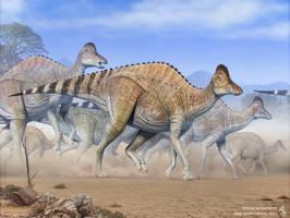 Hypacrosaurus by Swordlord3d