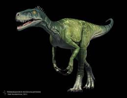 Herrerasaurus ischigualastensis by Swordlord3d