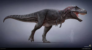 Tyrannosaurus. The Stomping Land. 02 by Swordlord3d
