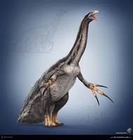Therizinosaurus. The Stomping Land. 01 by Swordlord3d