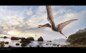 Brazilian Pterosaur by Swordlord3d
