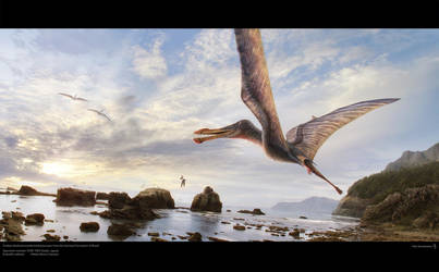 Brazilian Pterosaur by Swordlord3d