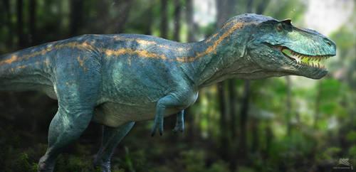 Albertosaurus. Dino Dana.2 by Swordlord3d