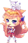 Star Guardian Ahri by MintyBunns