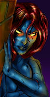 Mystique by cuha