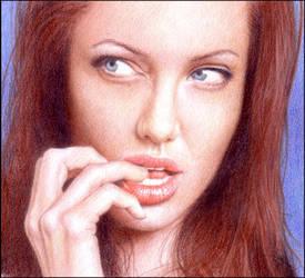 Angelina Jolie 2 by ThomasMMadsen