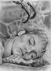 The sleeping Pan by majah