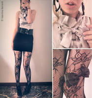 Bon ton outfit by V3Nr3VeNG3