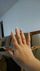 my long claws(nails) by leaffire01