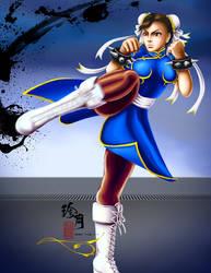 Street Fighter Girls - Chun Li by zhenyue