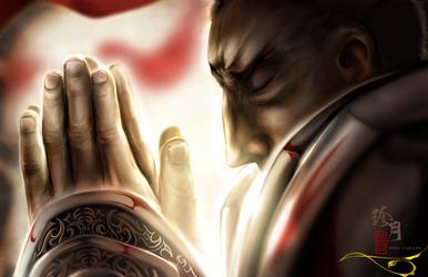 Diablo 3 - Inner Sanctuary by zhenyue