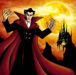 Dracula from Batman vs Dracula by Logna