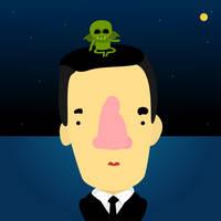 HBD H.P. Lovecraft by le-numeritos