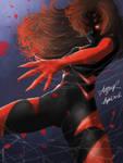 Spiderette by Blackbird2